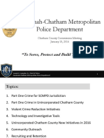 Chief Lumpkin update to county commission - Jan. 2016