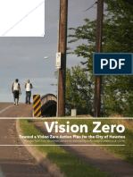 Vision Zero Houston Report