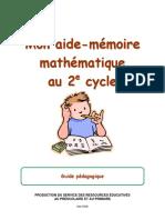 Aide-mémoire 2e Cycle Guide PA c Dagogique-2