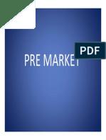 2. Pre Market