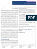 Marquest Monthly Pay Fund - Quarterly Commentary (Q4 2015) - Front Street Capital