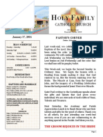 church bulletin 1-17-2016  1