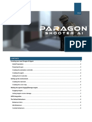 Paragon AI Documentation pdf | Explosion | Artificial Intelligence