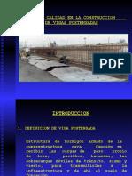 Control de Calidad en La Construcción de Vigas Postensadaas
