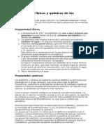 Propiedades físicas y químicas de los aldehídos