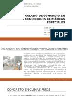 COLADO DE CONCRETO EN CONDICIONES CLIMATICAS ESPECIALES.pptx