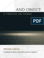Tristan Garcia - Form and Object - Introduction