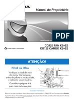 Cg 125 Fan e Cargo 2010 - Manual Do Proprietario