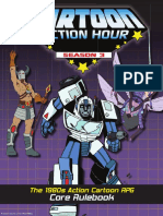 Cartoon Action Hour Season 3 Sourcebook