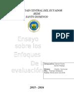 Ensayo Universidad Central Del Ecuador