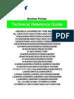 Tech Manual  impresora brother 1110