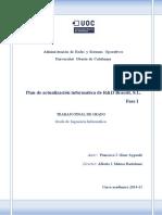 Actualización Informática de Recuperaciones y Desguaces Braceli, S.L.