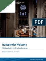Transgender Welcome
