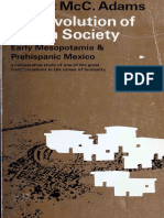 The Evolution of Urban Society - Early Mesopotamia and Prehispanic Mexico