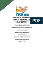 Modelo de Atencion de Los Servicios de Educacion Especial