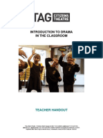 Introduction to Drama in the Classroom