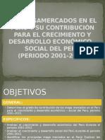 Los Megamercados en El Perú y Su Contribución