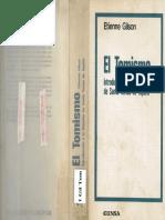 Etienne Gilson - El Tomismo, Introducción a la filosofía de Santo Tomás de Aquino.pdf
