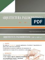 ARQUITECTURA PALEOCRISTIANA DECHI