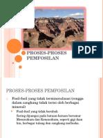 PROSES-PROSES PEMFOSILAN