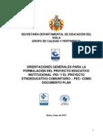 Documento de Orientaciones Para La Formulación Del PEI (1)