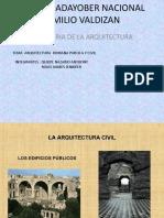 Arquitectura Romana Publica y Civil