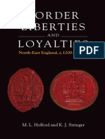 M. L. Holford - Border Liberties and Loyalties in North-East England, 1200-1400