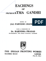 Teachings of Mahatma Gandhi