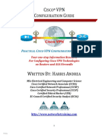 Cisco VPN Configuration Guide - Step-By-Step Configuration of Cisco VPNs for ASA and Routers - 1st Edition (2014)