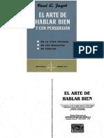 EL ARTE DE HABLAR BIEN - Paul Jagot.PDF