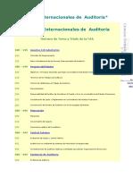 Normas Internacionales de AUDITORIA - U CAUCA