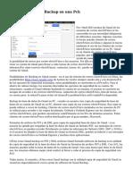 Como crear Gmail Backup en una Pch