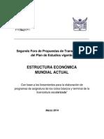 4. GAZOL, Sánchez, Rodríguez, Rivera, Polanco, Villamar. Estructura Ec. Mundial