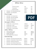 Ludals Wine List 2016