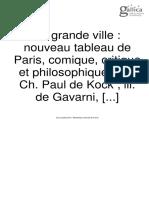 BALZAC Monographie de La Presse Parisienne