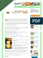 El Más Potente Jugo Adelgazante_ Limón Con Piña y Jengibre _ Healing Natureza.c
