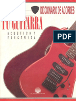 Tu Guitarra Diccionario de Acordes