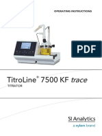 TL 7500 KF Trace Operating Instructions 1 MB English PDF