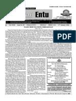 THALAI ENTU - 17.01.2016