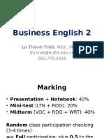 Business English 2