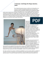 Venta Ropa interior Sensual, Catálogo De Ropa interior, Ropa Interior Femenina