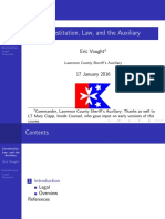 Constitution, Law, and the Auxiliary (Slides)