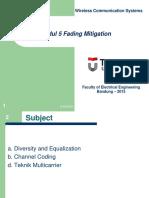 Fading Mitigation