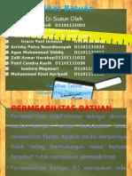 Tugas Mekanika Batuan Permeabilitas Batuan.pptx