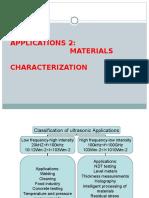 Application of Ultrasonic
