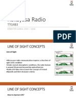 Radio Engineering - Line of Sight