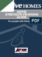 ResistanceBands Home Strength Training Guide Tetraplegia