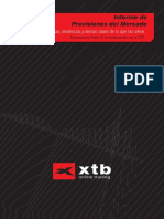 XTB Informe de previsiones del mercado financiero
