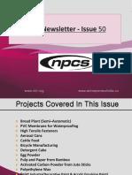 NPCS (www.niir.org) Newsletter- 50