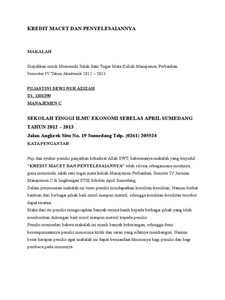 Surat Permohonan Penurunan Suku Bunga Kpr Btn Bagi Contoh Surat